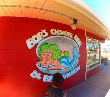At Bobs Chowder Anacortes