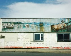 Mural in Crescent City