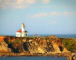 Cape Arago Lighthouse Southern Oregon Coast