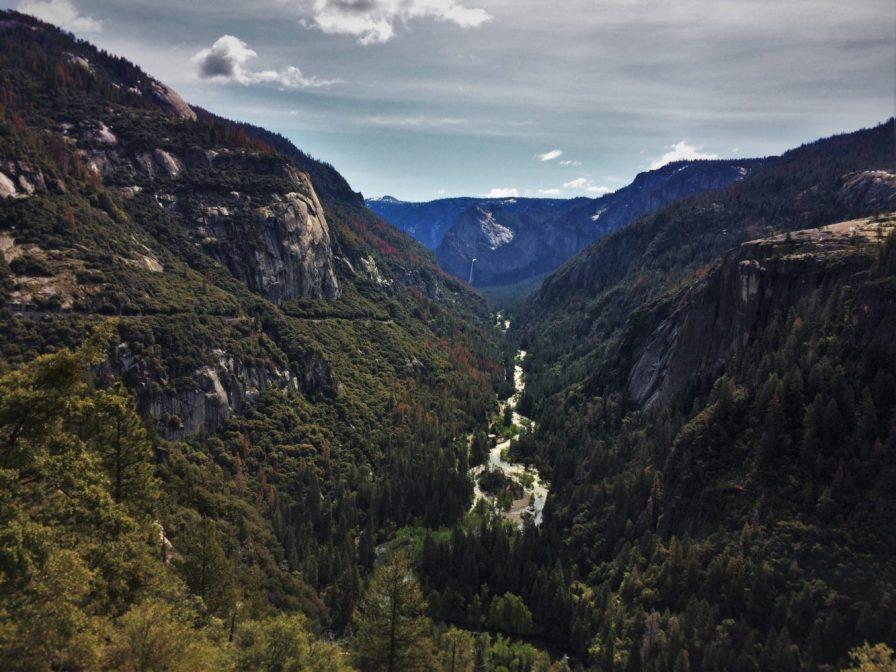 Merced River in Yosemite National Park 1