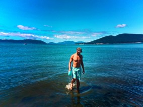 Rob Taylor at beach Washington Park Anacortes 2e