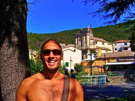 Rob Taylor in Deiva Marina Cinque Terre Italy