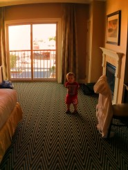 TinyMan in double room at Majestic Inn Anacortes 1e