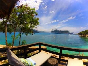 Cabana in Labadee Haiti Royal Caribbean 1