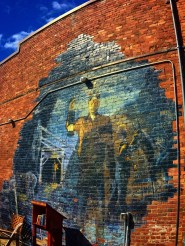 Coal Miner Mural in Roslyn Washington 1