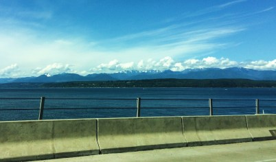 Crossing Hood Canal Bridge