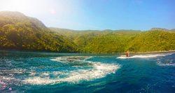 Jet skis on wave runner tour Labadee Haiti 6