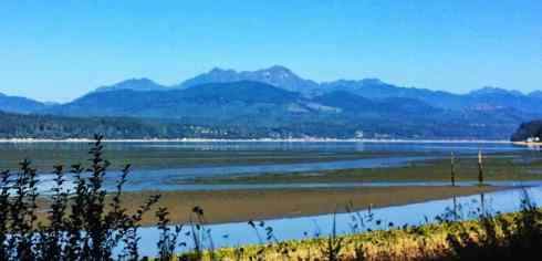 Looking across Hood Canal