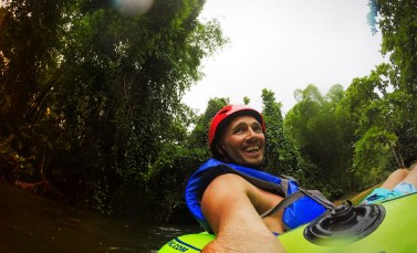Rob Taylor Floating the White River Ocho Rios Jamaica 2