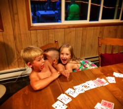 Taylor Cousins at family reunion trip Lake Cushman Olympic Peninsula 1