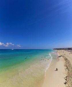 Beach at Playa del Carmen Mexico 2