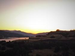 Sunset from Lyle Columbia Gorge Washington