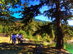 Pretty Fork Destination Dining guests Inn at Ships Bay Orcas Island 1
