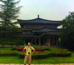 Rob Taylor at Xian historical museum 1