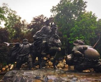 Sculpture at Tang Paradise Xian Imperial Garden 2