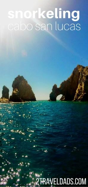 Snorkeling Cabo San Lucas Tall pin