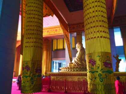 Golden Happy Buddha at Famen Temple Baoji 7