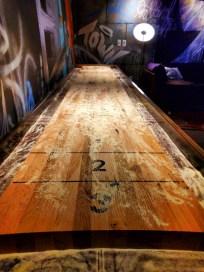 Hotel Vintage Portland lobby shuffleboard table 1