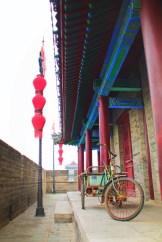 Antique Bike at Xian City Wall 1