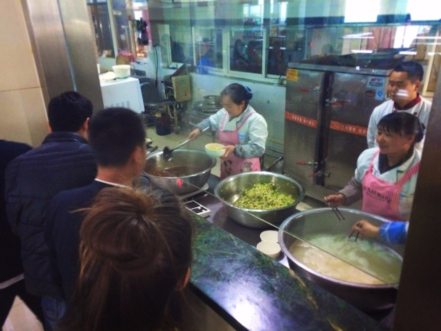 Noodle Cafeteria at Taibai Mountain National Park 2