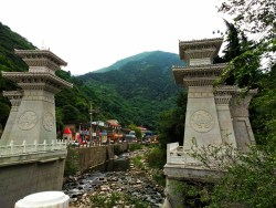 Old Town Baoji at Taibai Mountain with River Gate 1