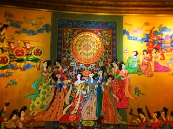 Tapestry at Tang Dynasty Chinese Ballet Xian 1
