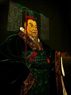 Carved Jade Emperor in Xian Cultural History Museum