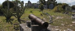 CheshireHall cannon Turks and Caicos TurksAndCaicosTourism