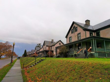 Officers Quarters at Fort Worden State Park Port Townsend 3