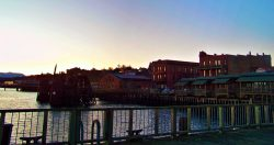 Port Townsend Waterfront at Sunset 1