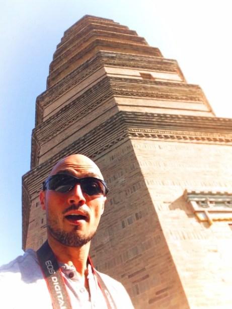 Rob Taylor and Baota Pagoda and Yanan Shaanxi 1