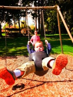 Taylor Family at Chetzamoka Park Port Townsend 1