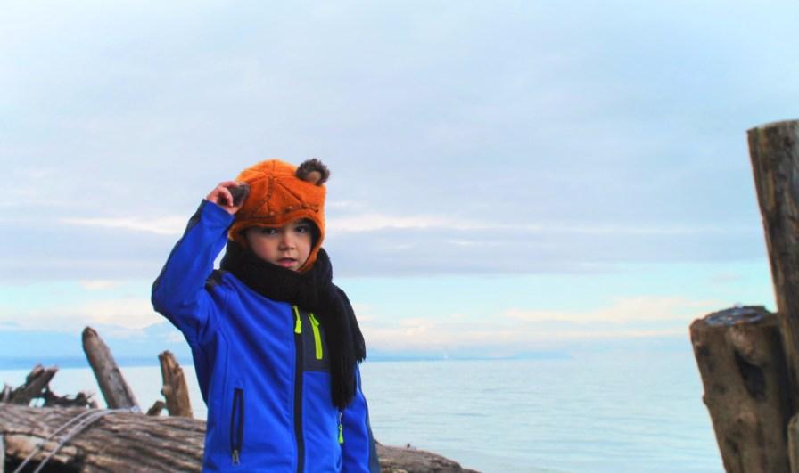 Taylor Kids at Dungeness National Wildlife Refuge Sequim 4