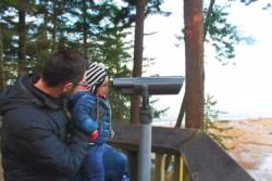 Taylor family at Dungeness Spit National Wildlife Refuge Sequim 1