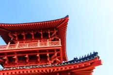 Watchtower Drumtower at Baota Pagoda Yanan Shaanxi 7