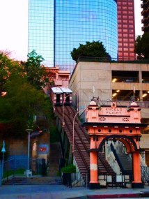 Angels Flight at Grand Central Market Los Angeles 1