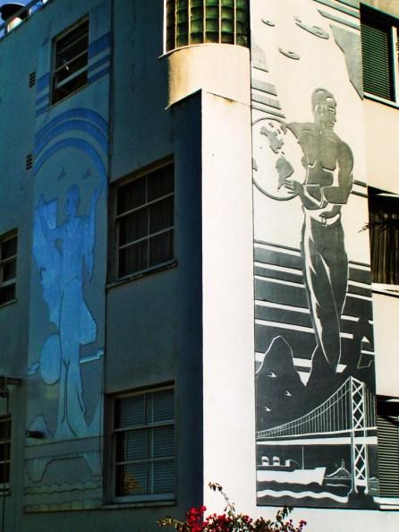 Art Deco building on Telegraph Hill San Francisco 2