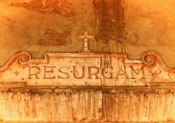 Inscription at Mission San Juan Capistrano 1