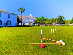Croquet Lawn at Plantation on Crystal River 1
