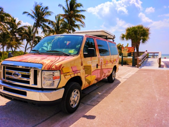 Escape Campervan at Fort Myers Beach Mango St Access 1