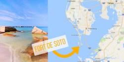 Fort De Soto Map
