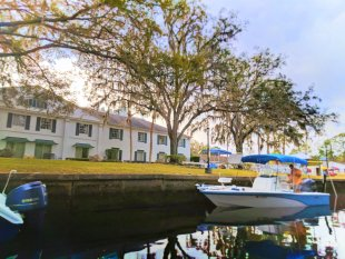 Plantation on Crystal River from water 1