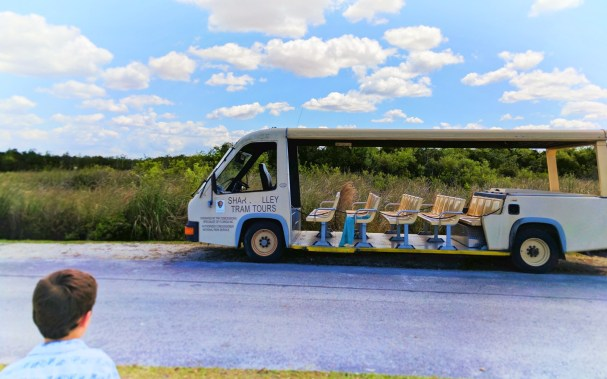 Shark Valley Entrance tram tour Everglades National Park 1