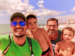 Taylor Family at Venice Beach Florida 1