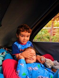 Taylor Family with Escape Campervan Fort De Soto Park St Pete Beach Florida 4