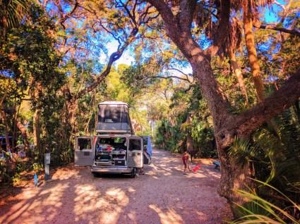 Taylor Family with Escape Campervan Fort De Soto Park St Pete Beach Florida 6
