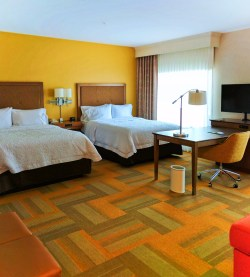 Double Suite at Hampton Inn and Suites Hood River 1