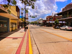 Downtown DeLand Florida Daytona Beach area 1