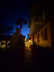 Energy Capture Downtown at Twilight on St Augustine Ghost Tour 1