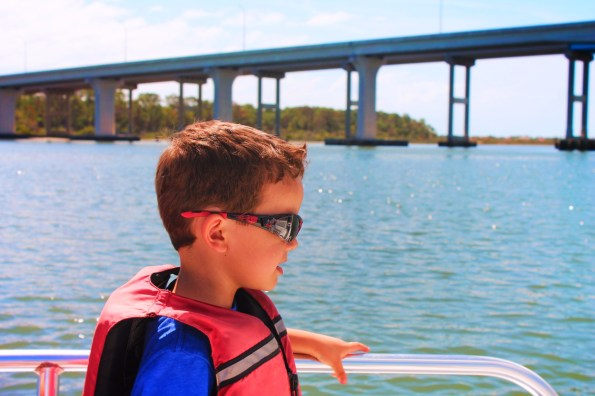 Taylor Family Exploring on Matanzas River St Augustine Ecotours 1